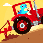 Dinosaur Farm – Tractor simulator games for kids 1.1.4 Mod Download – for android