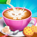 🐱Kitty Café – Make Yummy Coffee☕ & Snacks🍪 1.6.5000 Mod Download – for android