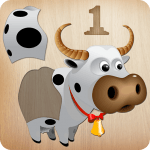 Animals Puzzle for Kids 🦁🐰🐬🐮🐶🐵 3.0.0 Mod Download – for android