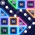 Bricks Breaker – Glow Balls 1.13.207 Mod Download – for android