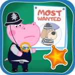 Kids Policeman games: Hippo Detective 1.1.3 Mod Download – for android