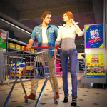 Virtual Mother Shopping Mall – Supermarket Games 1.0.3 Mod Download – for android