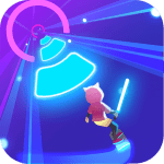 Cyber Surfer: Free Music Game – the Rhythm Knight 1.0.70 Mod Apk Unlimited money– for android